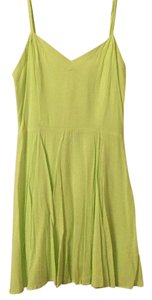 Talula short dress Neon yellow green on Tradesy