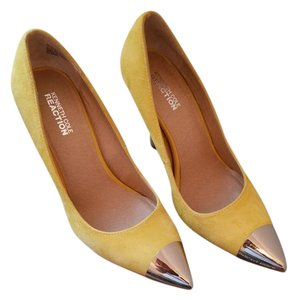 Kenneth Cole Yellow Pumps