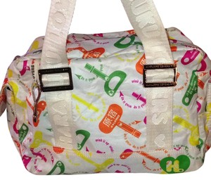 Harajuku Lovers Satchel in White/Multi