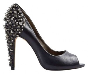Sam Edelman Studded Leather Night Out Black Pumps