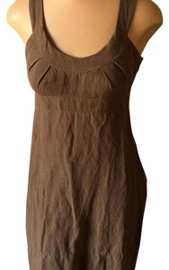 Kensie short dress Brown on Tradesy