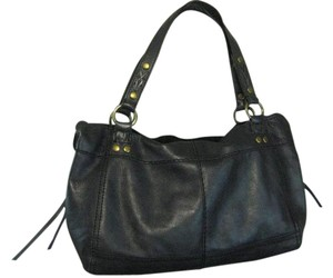 Lucky Brand Leather Satchel in Black