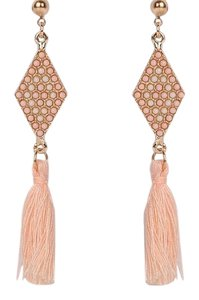 Other Athena Tassel Earrings in Pink