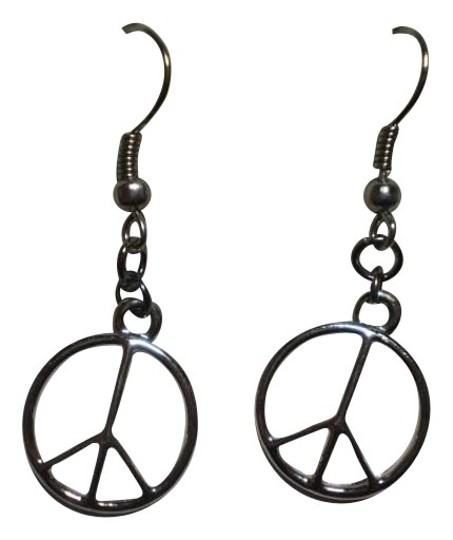 Preload https://img-static.tradesy.com/item/161862/new-silvertone-peace-earrings-0-0-540-540.jpg