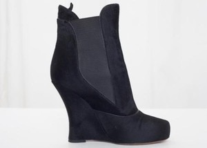Tabitha Simmons Womens Black Boots