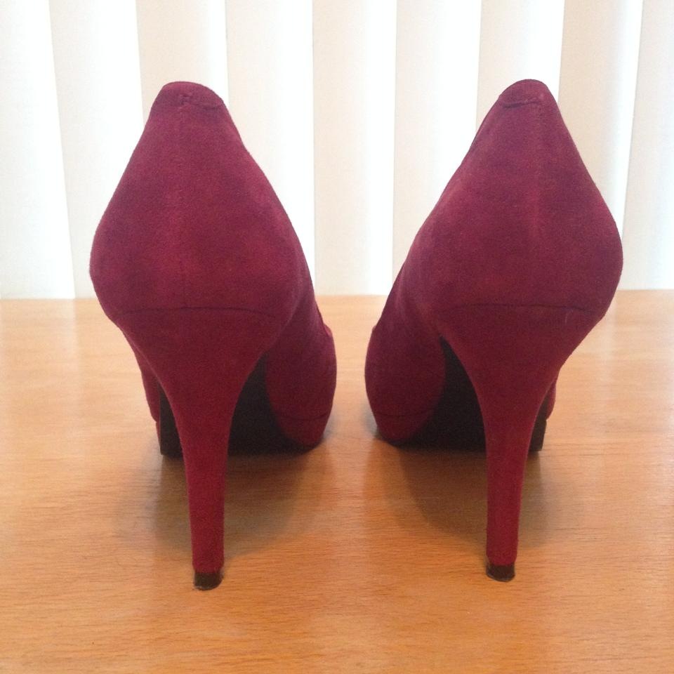 cf823dba288 Berry Red Ruby Plateauo Pumps