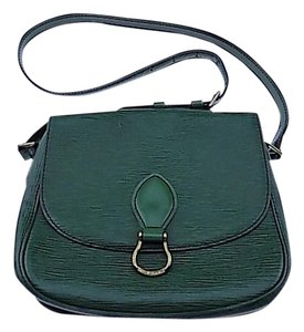 Louis Vuitton Epi Green Saint Cloud Gm Cross Body Bag