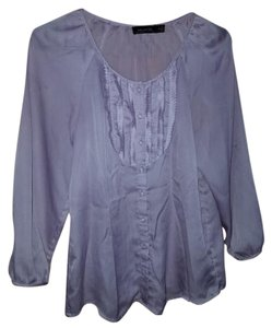 The Limited Lavender Dress Shirt Top Purple