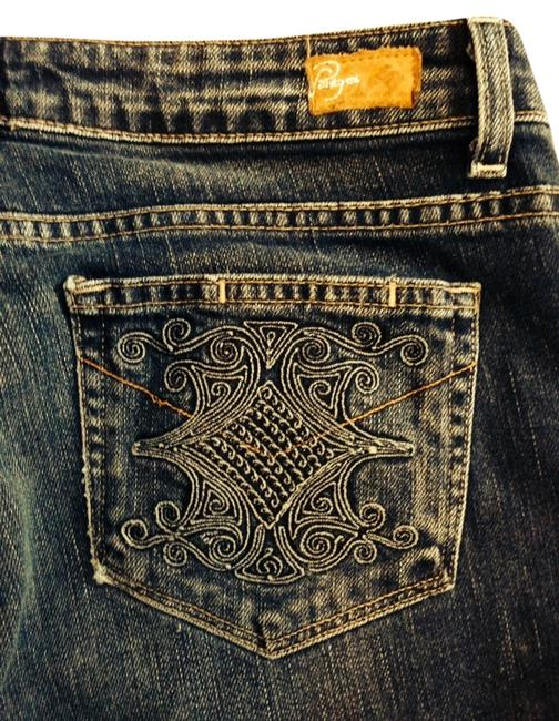 Preload https://item4.tradesy.com/images/paige-dark-blue-with-distressing-rinse-special-pocket-boot-cut-jeans-size-31-6-m-1618833-0-0.jpg?width=400&height=650