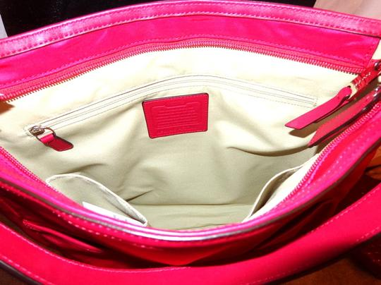 Coach red Messenger Bag