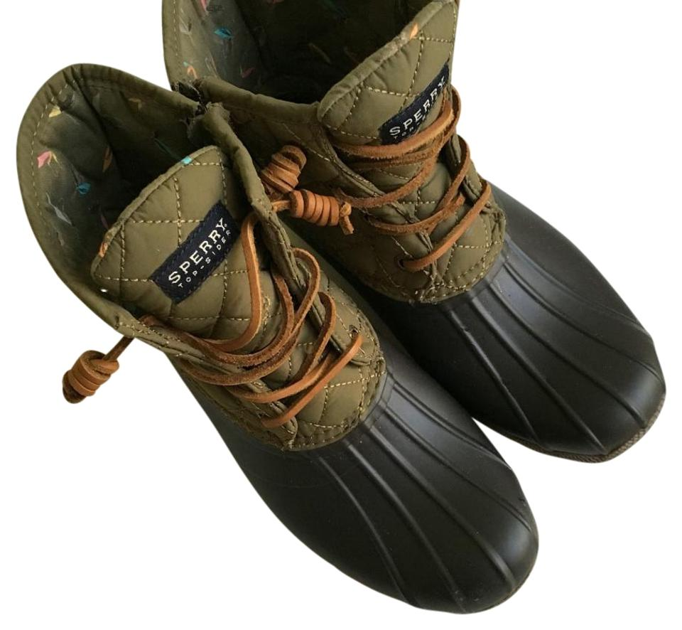 WOMENS Sperry Brown/Olive Sts93692 all Boots/Booties Ideal gift for all Sts93692 occasions 6702bd