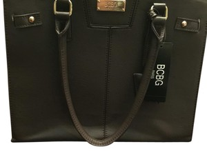 BCBG Paris Satchel in Dark Brown
