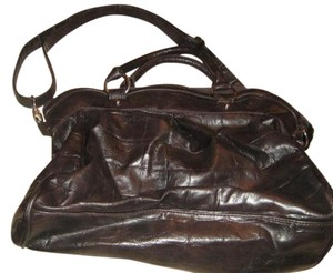 Chocolate Handbags Satchel In Dark Brown