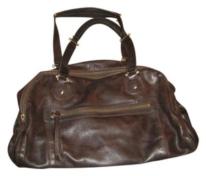 Liz Claiborne Satchel in Dark Brown