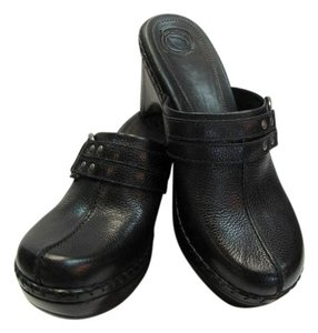 Other Size 10.00 M Very Good Condition Black Mules