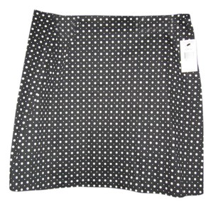 Tahari Skirt Black and White