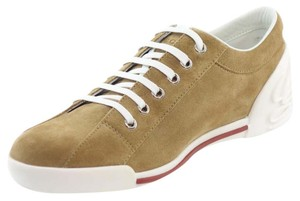 Gucci Suede Trainers Sneaker Leather Camel Athletic