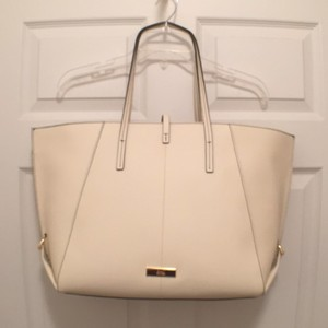 Zac Posen New Leather Nwt Travel Tote in Ivory (Off White)