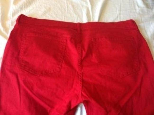 Old Navy Plus-size Petite Straight Pants Red