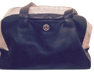 Lululemon Tote in navy and silver