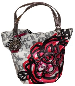 Coach Poppy Floral Tote