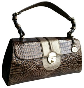 Brahmin Satchel in Cooper