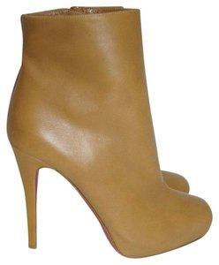 Christian Louboutin Ankle Boot Beige Camel / Brown / Taupe / Mustard Boots