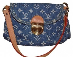 Louis Vuitton Handbag Monogram Collection Fashion Style Leather Baguette