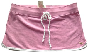 PINK Mini Skirt Pink/white