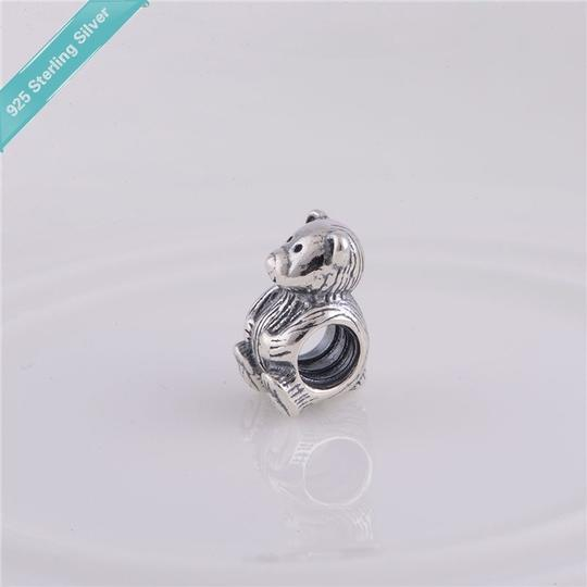 Other nwot sterling silver 925 bear diy bracelet fit charm bead gift new mommy daddy baby new born teddy animal bears