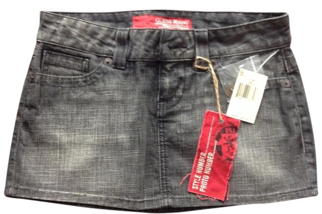 Guess Mini Skirt Denim