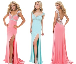 Tony Bowls Jersey Prom Dress