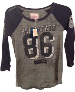 PINK by Victoria's Secret T Shirt Gray/Navy-Penn State