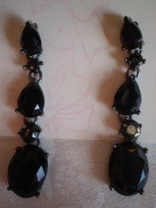 MONET MONET black earrings