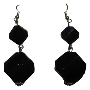 Other Like new black dangly earrings