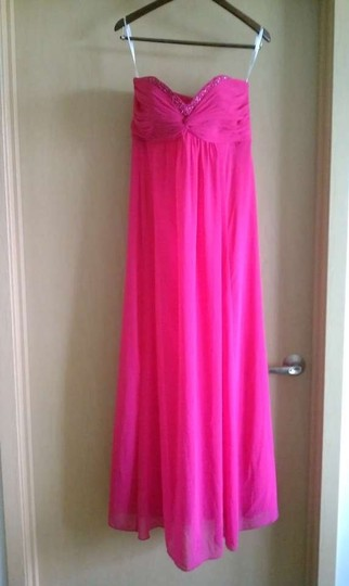 David's Bridal Begonia F14867 Formal Bridesmaid/Mob Dress Size 8 (M)