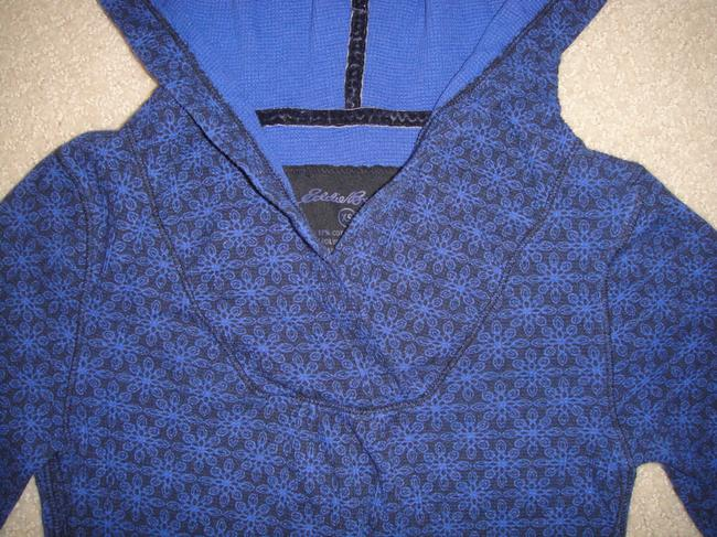 Eddie Bauer Hooded Patterned Sweater