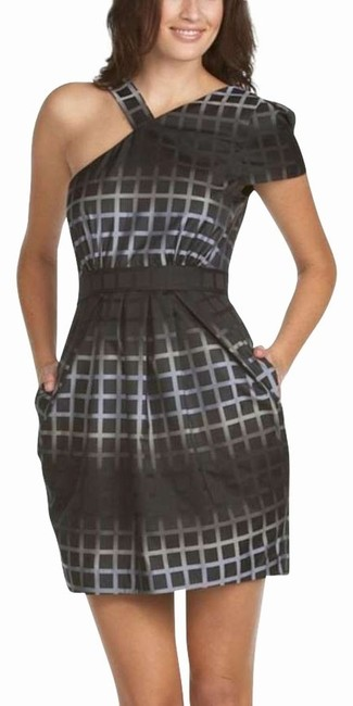 Preload https://item5.tradesy.com/images/black-multi-ombre-grid-asymmetric-sleeve-above-knee-cocktail-dress-size-4-s-161949-0-0.jpg?width=400&height=650