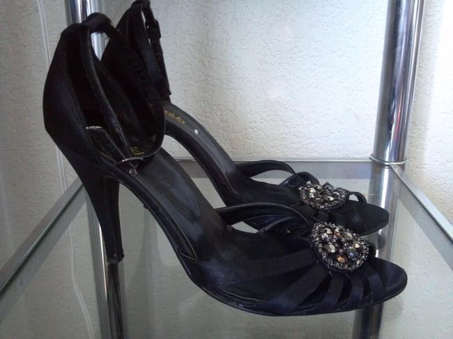 Frederick's of Hollywood Black Party Formal Shoes Size US 8.5 Regular (M, B) Frederick's of Hollywood Black Party Formal Shoes Size US 8.5 Regular (M, B) Image 2