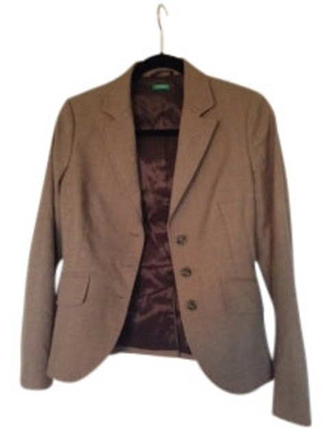 United Colors of Benetton Brown Blazer