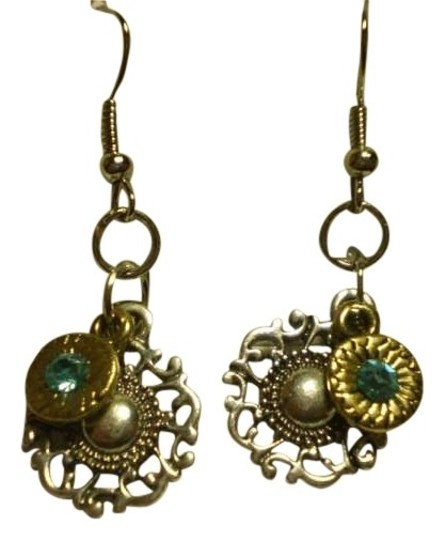 Preload https://item3.tradesy.com/images/new-silver-and-goldtone-charms-waquamarine-earrings-161962-0-0.jpg?width=440&height=440