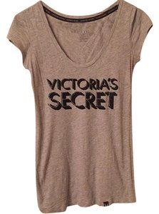 Victoria's Secret T Shirt Gray