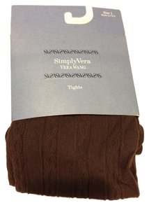 Vera Wang SimplyVera - Vera Wang Tights in Brown