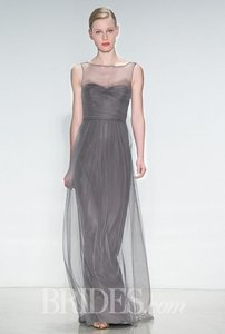 Amsale Graphite G856u Dress