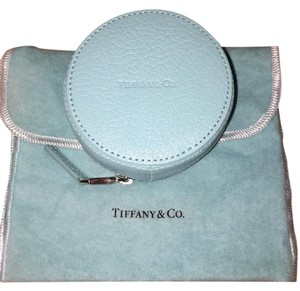 Tiffany & Co. Round Zip Jewelry Case