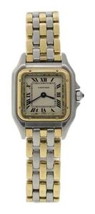 Cartier Cartier Womens Two-Tone Panthere 3 Row Watch