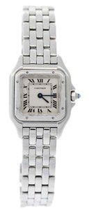 Cartier Cartier Womens Stainless Steel Panthere Watch