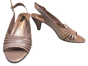 Alex Marie Pearlized Pink Leather Sandals