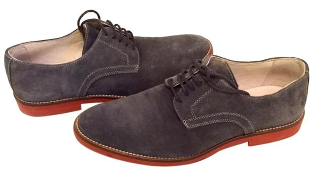 Item - Grey Men's Lace-up Casual Oxford Formal Shoes Size US 7.5 Regular (M, B)