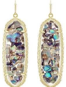 Kendra Scott Kendra Scott Lauren Earrings in Crushed Abalone Shell